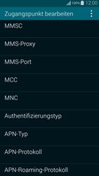 Samsung Galaxy Alpha - MMS - Manuelle Konfiguration - 10 / 19
