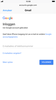 Apple iPhone 6 Plus - iOS 11 - E-mail - 032a. Email wizard - Gmail - Stap 7