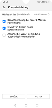 Huawei Mate 20 - E-Mail - Konto einrichten - 17 / 20