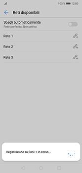 Huawei P20 Lite - Rete - Selezione manuale della rete - Fase 10