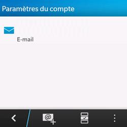 BlackBerry Q10 - E-mails - Ajouter ou modifier un compte e-mail - Étape 5