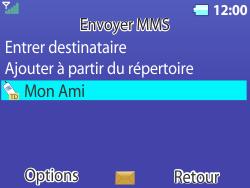 Bouygues Telecom Bc 311 - Contact, Appels, SMS/MMS - Envoyer un MMS - Étape 17