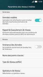 Huawei Y5 - Internet et roaming de données - Comment vérifier que la connexion des données est activée - Étape 6