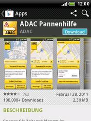 HTC Wildfire - Apps - Herunterladen - 1 / 1