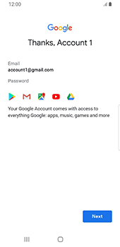 Samsung Galaxy S9 - Android Pie - Applications - Setting up the application store - Step 18