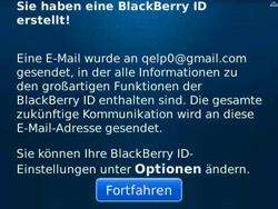 BlackBerry Bold - Apps - Konto anlegen und einrichten - 15 / 19