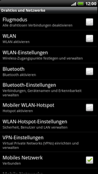 HTC Sensation XE - WLAN - Manuelle Konfiguration - 5 / 9