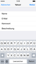 Apple iPhone 5 - E-Mail - Konto einrichten (yahoo) - 1 / 1