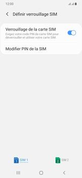Samsung Galaxy A20e - Sécurité - modifier SIM PIN - Étape 7