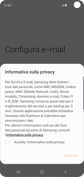 Samsung Galaxy S10 - E-mail - 032c. Email wizard - Outlook - Fase 10