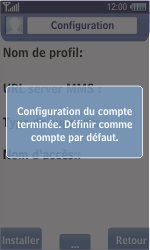 Samsung S8500 Wave - Internet - configuration automatique - Étape 8
