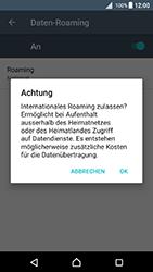 Sony Xperia X - Ausland - Im Ausland surfen – Datenroaming - 11 / 14