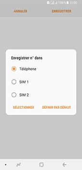 Samsung Galaxy A8 - Contact, Appels, SMS/MMS - Ajouter un contact - Étape 7