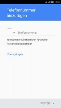 Huawei Mate 9 Pro - Apps - Konto anlegen und einrichten - Schritt 13