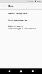 Sony Xperia XA2 - Device - Factory reset - Step 7