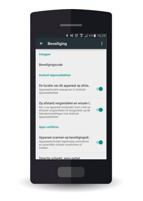Samsung Galaxy S8 - Android Oreo (SM-G950F) - Beveilig je toestel tegen verlies of diefstal - Maak je toestel eenvoudig BoefProof - Stap 2