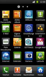 Samsung I9000 Galaxy S - WLAN - Manuelle Konfiguration - Schritt 3