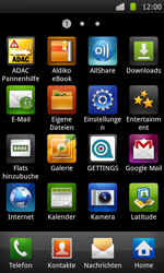 Samsung Galaxy S - WLAN - Manuelle Konfiguration - 3 / 10