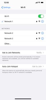 Apple iPhone 11 - iOS 14 - WiFi - WiFi configuration - Step 7