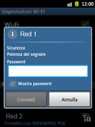 Samsung Galaxy Pocket - WiFi - Configurazione WiFi - Fase 8
