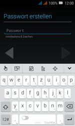 Huawei Y3 - Apps - Konto anlegen und einrichten - Schritt 8