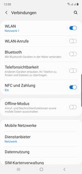 Samsung Galaxy Note 10 - WiFi - WiFi Calling aktivieren - Schritt 6