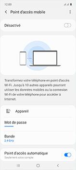 Samsung Galaxy A51 - WiFi - Comment activer un point d'accès WiFi - Étape 7