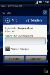 Sony Ericsson Xperia X8 - WLAN - Manuelle Konfiguration - Schritt 8