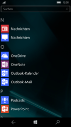 Microsoft Lumia 950 - SMS - Manuelle Konfiguration - Schritt 4