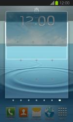 Samsung Galaxy Express - Startanleitung - Installieren von Widgets und Apps auf der Startseite - Schritt 6