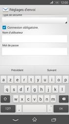 Sony Xperia E4g - E-mails - Ajouter ou modifier un compte e-mail - Étape 14