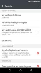 HTC Desire 530 - Sécuriser votre mobile - Activer le code de verrouillage - Étape 12