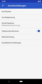 Google Pixel 3 - Anrufe - Rufumleitungen setzen und löschen - 7 / 11