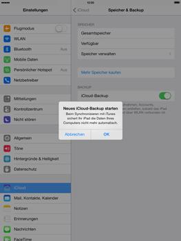 Apple iPad Retina iOS 7 - Apps - Konfigurieren des Apple iCloud-Dienstes - Schritt 22