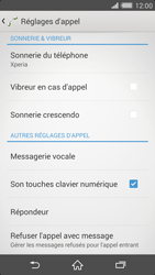Sony D6503 Xperia Z2 - Messagerie vocale - configuration manuelle - Étape 6