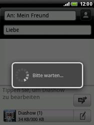 HTC A3333 Wildfire - MMS - Erstellen und senden - Schritt 21
