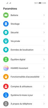 Huawei P40 Lite 5G - Aller plus loin - Mettre à jour le logiciel interne de votre mobile - Étape 4