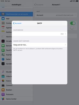 Apple ipad-air-2-ios-12 - E-mail - Account instellen (IMAP met SMTP-verificatie) - Stap 19