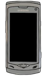 Samsung S8500 Wave - SIM-Karte - Einlegen - Schritt 6