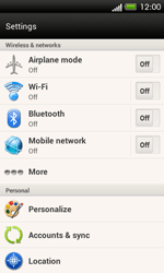 HTC One SV - Internet and data roaming - Manual configuration - Step 4