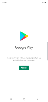 Samsung Galaxy Note 10 - Applicazioni - Configurazione del negozio applicazioni - Fase 4