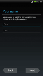 HTC One S - Applications - Setting up the application store - Step 6