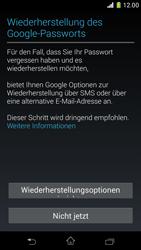 Sony Xperia Z1 Compact - Apps - Konto anlegen und einrichten - 12 / 22