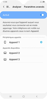 Samsung Galaxy A10 - Bluetooth - connexion Bluetooth - Étape 11