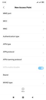 Xiaomi Mi Mix 3 5G - Internet and data roaming - Manual configuration - Step 10