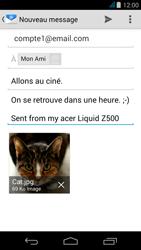 Acer Liquid Z500 - E-mail - envoyer un e-mail - Étape 15