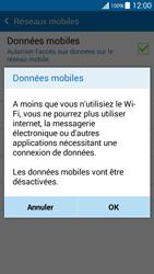 Samsung G530FZ Galaxy Grand Prime - Internet - Désactiver les données mobiles - Étape 7