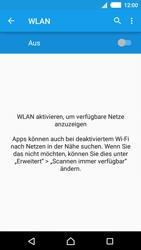 Sony E2303 Xperia M4 Aqua - WLAN - Manuelle Konfiguration - Schritt 5