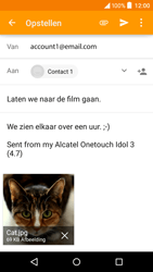 Alcatel OT-6039Y Idol 3 (4.7) - e-mail - hoe te versturen - stap 15