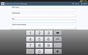 Samsung P5220 Galaxy Tab 3 10-1 LTE - E-Mail - Konto einrichten - Schritt 10